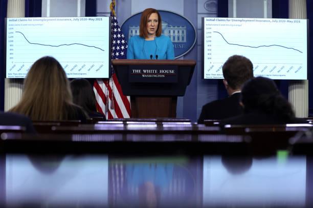 DC: White House Press Secretary Psaki Briefs Media