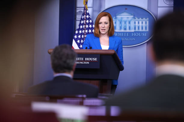 DC: Press Secretary Psaki Gives Daily White House Media Briefing