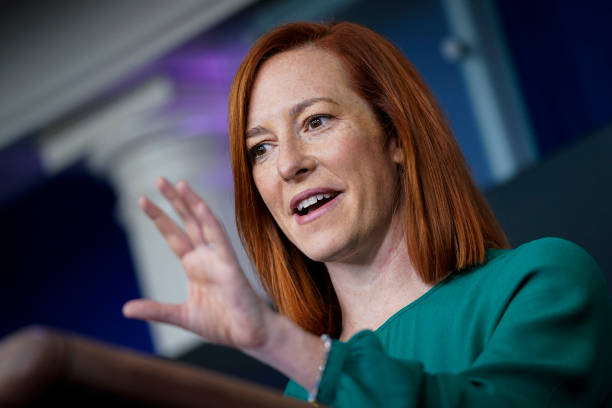 DC: White House Press Secretary Jen Psaki Holds Briefing In The White House