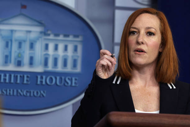 DC: Press Secretary Jen Psaki Holds Daily White House Briefing