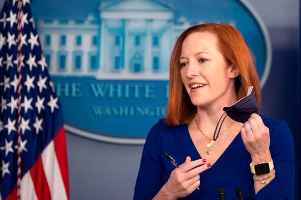 DC: Press Secretary Jen Psaki Holds Daily Briefing
