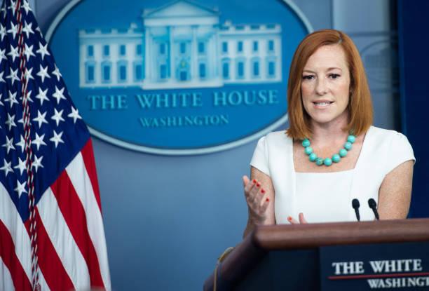 DC: Press Secretary Psaki Briefs White House Media