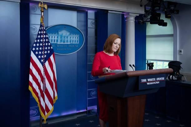 DC: White House Press Secretary Psaki Holds Daily Briefing