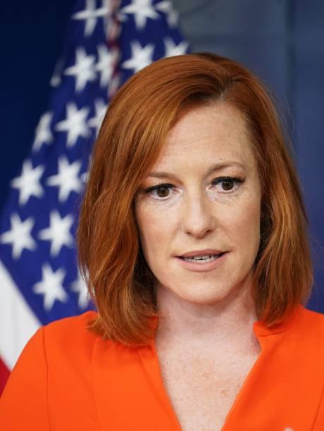 DC: White House Press Secretary Psaki Holds Monday's Briefing