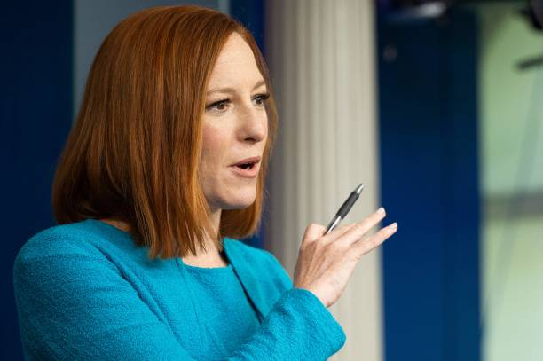 DC: Jen Psaki Speaks To White House Press In Daily Briefing