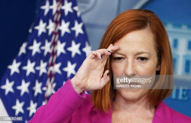 DC: Secretary Psaki Briefs White House Media