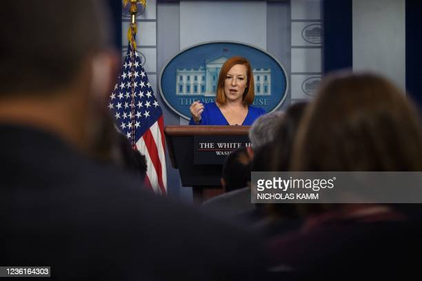DC: Jen Psaki Delivers Daily White House Briefing