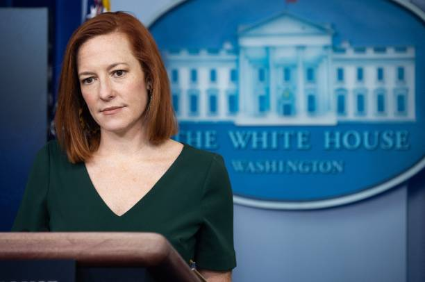 DC: White House Press Secretary Jen Psaki Holds News Briefing