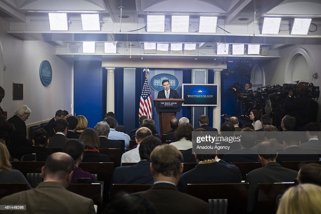 White House daily press briefing : News Photo