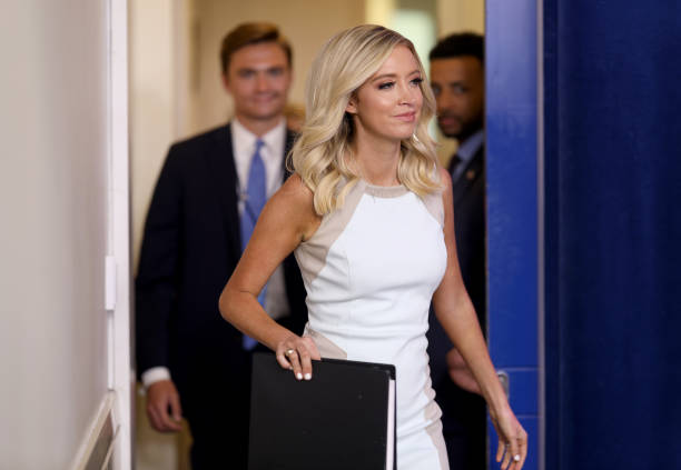 DC: White House Press Secretary Kayleigh McEnany Holds Briefing At White House