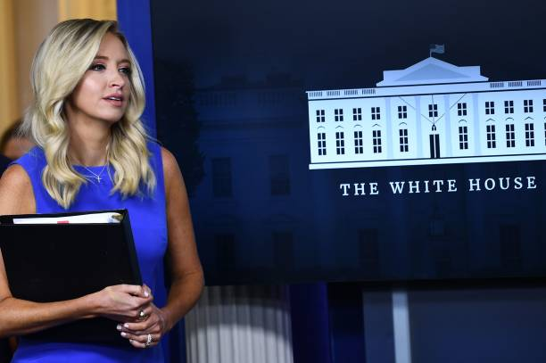DC: Press Secretary Kayleigh McEnany Briefs Media At White House