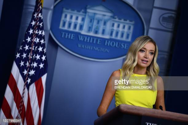 DC: Press Secretary Kayleigh McEnany Briefs Media At The White House