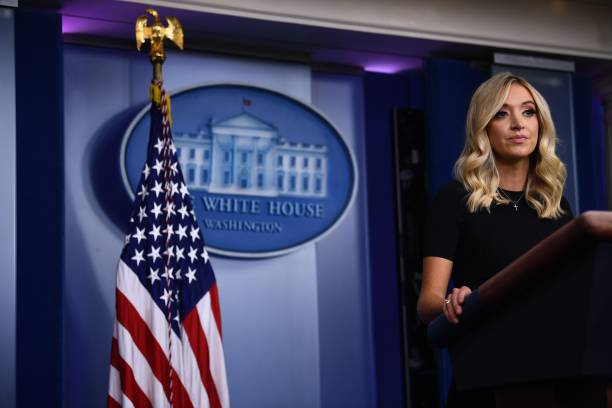 DC: Press Secretary Kayleigh McEnany Holds Briefing At The White House
