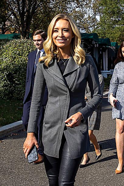 DC: Press Secretary Kayleigh McEnany At The White House