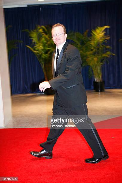 White House Press Secretary Robert Gibbs arrives at the White House Correspondents' Association dinner on May 1 2010 in Washington DC The annual...