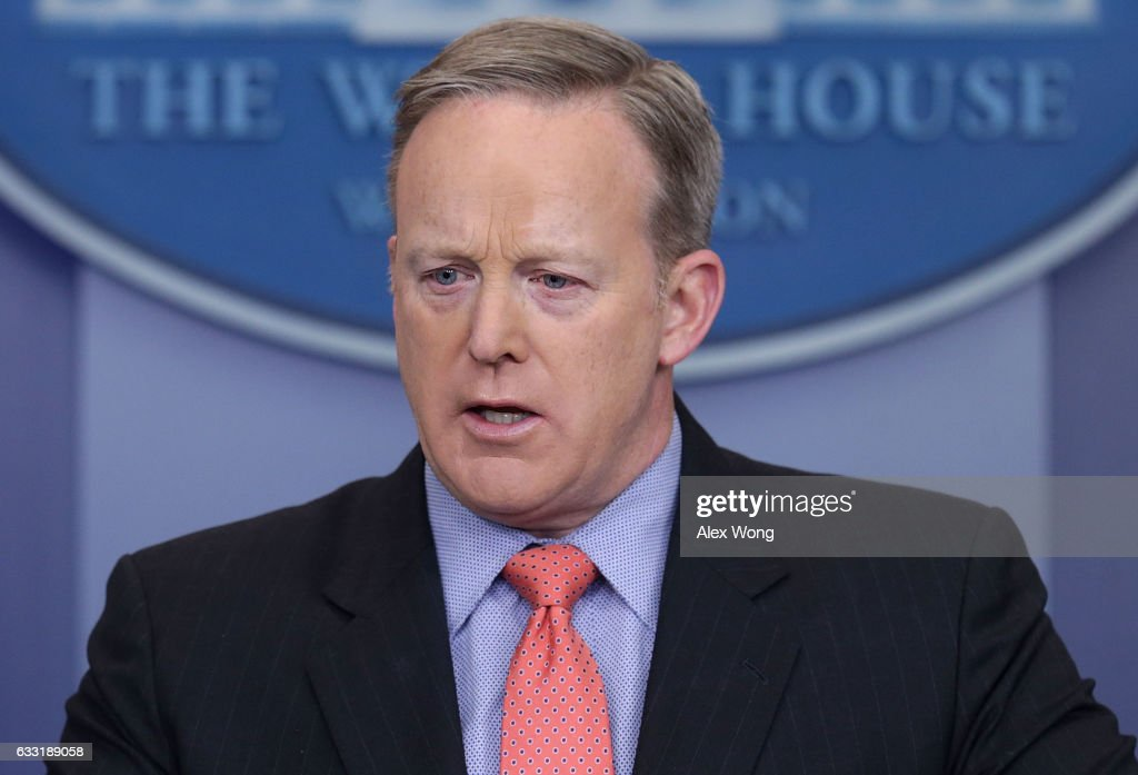 White House Spokesperson Sean Spicer Holds His Daily Press Briefing