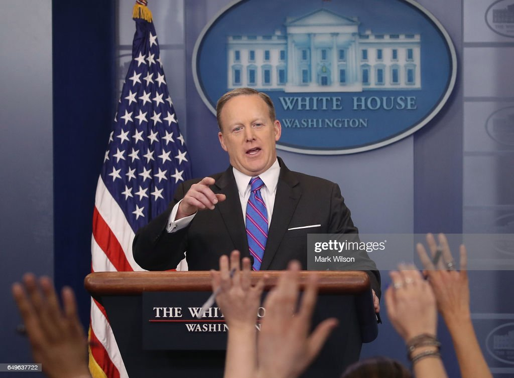 White House Press Secretary Sean Spicer Holds Press Briefing