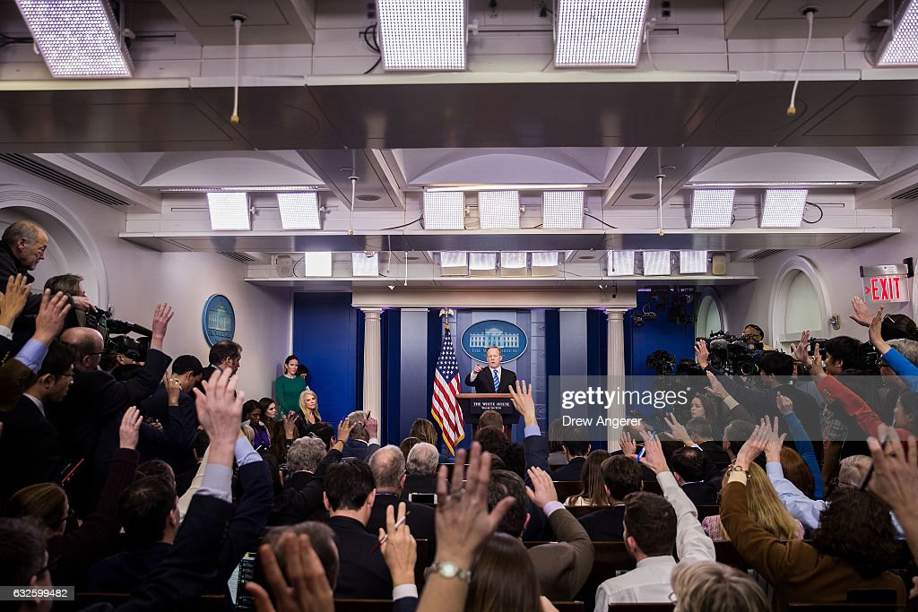 White House Press Secretary Sean Spicer Holds Daily Press Briefing