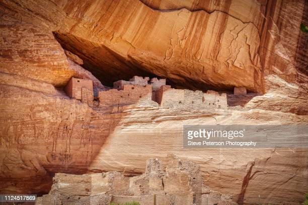white house ruins, canyon de chelly - canyon de chelly national monument stock pictures, royalty-free photos & images