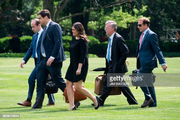White House Senior Policy Advisor Stephen Miller Director of Presidential Personnel John DeStafano White House Press Secretary Sarah Sanders National...