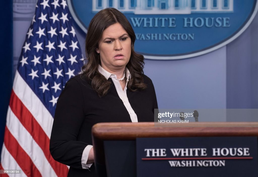 White House Press Secretary Sarah Sanders Holds Briefing At White House