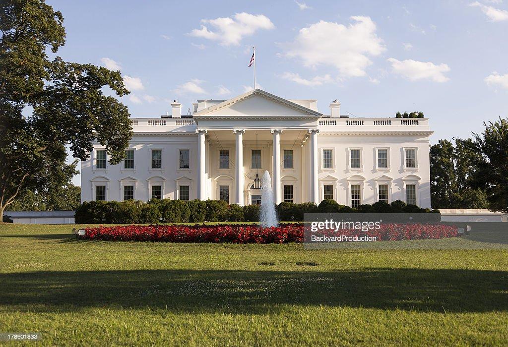 ホワイトハウス、ワシントン DC : ストックフォト