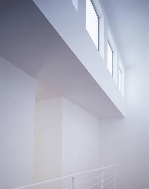 White Interior with Windows