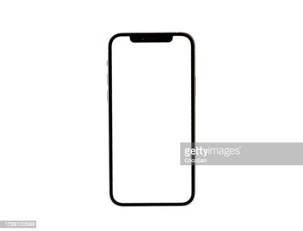 ホワイトiphone 12 - 市場にアップルの新しい携帯電話 - iphone 12 ストックフォトと画像