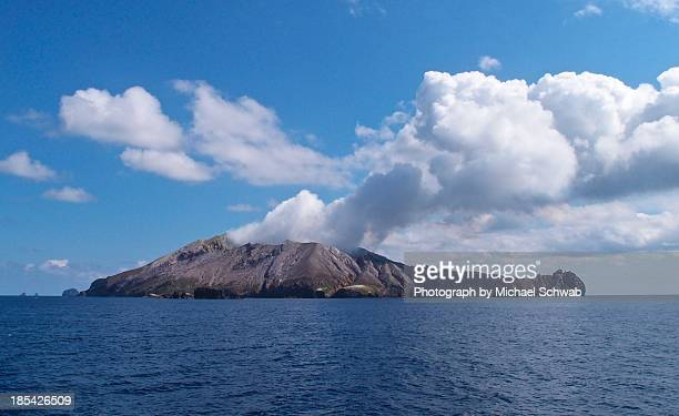 white island- new zealand - white island stock photos and pictures