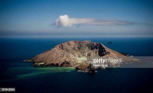 white island - white island new zealand stock photos and pictures
