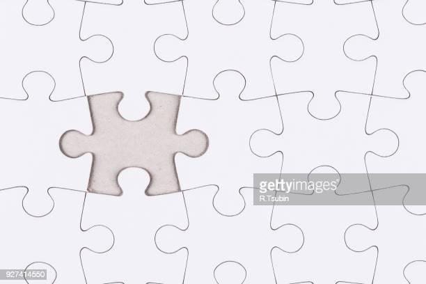 white jigsaw puzzle