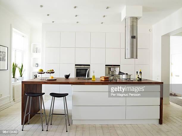 A white kitchen Sweden.