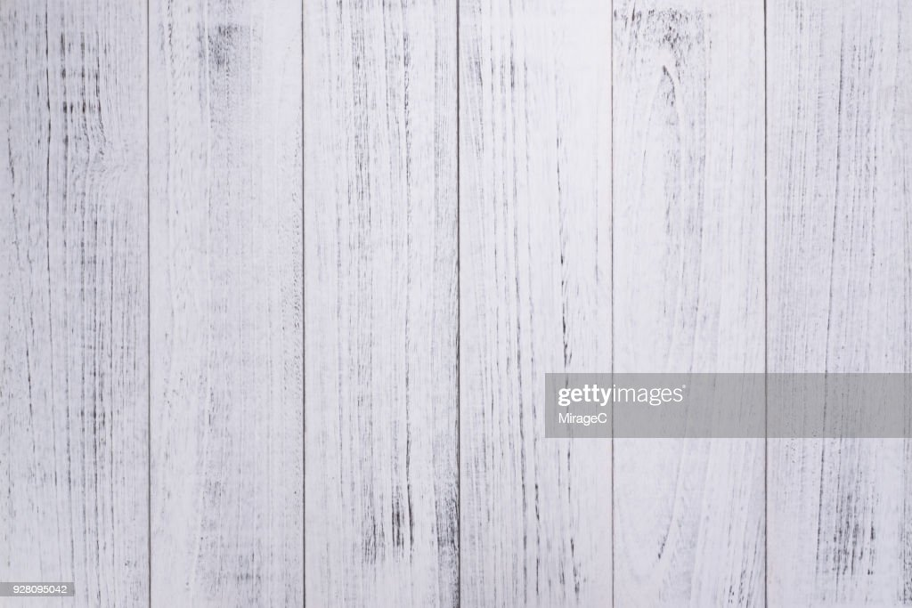White Lacquered Wood Texture : Stock Photo