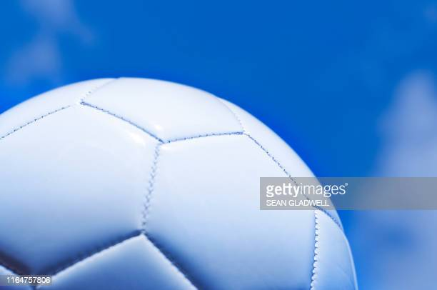 white leather football - world championship stock pictures, royalty-free photos & images