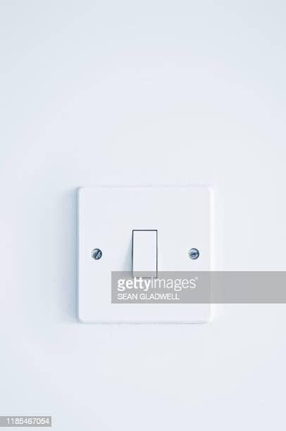 white light switch - white stock pictures, royalty-free photos & images