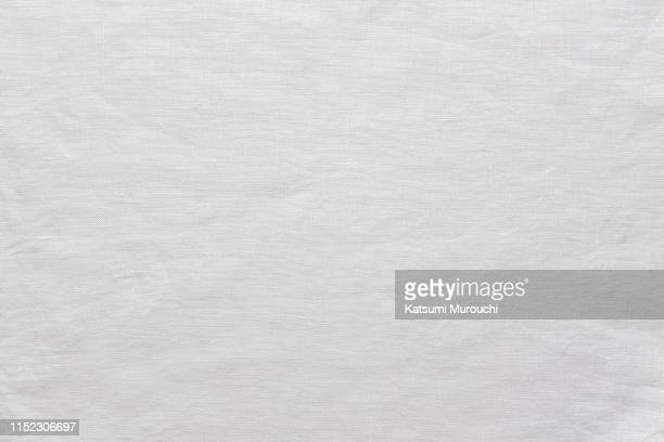 white linen fabric texture background - textile stock pictures, royalty-free photos & images