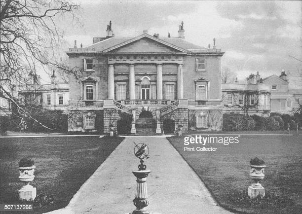 White Lodge the home of Queen Mary before her marriage and the birthplace of Edward VIII 1936 From Edward The Eighth Our King by AV Groom [Allied...
