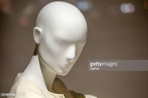 white mannequin head - mannequin stock pictures, royalty-free photos & images