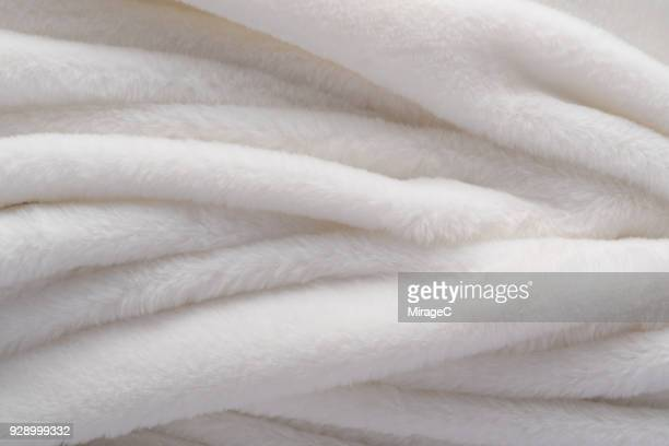 White Manufactured Fur