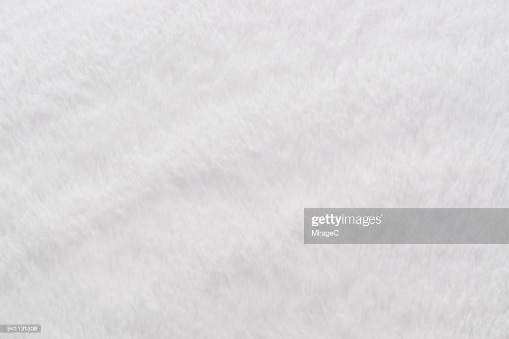 White Manufactured Fur : Stock-Foto