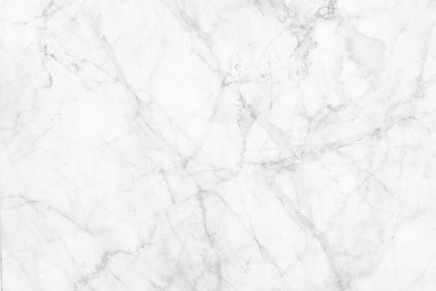 White Marble Patterned Texture Background