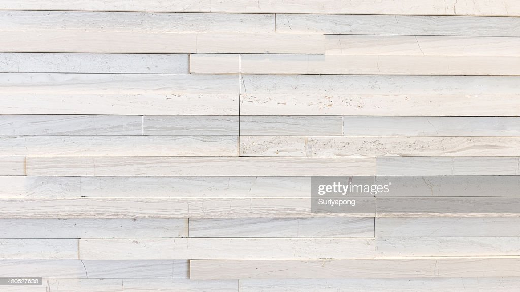 White marble wall texture and background. : Stock Photo