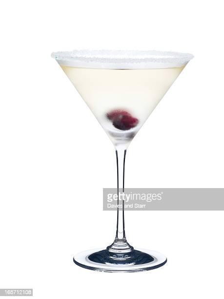 White Martini in Glass