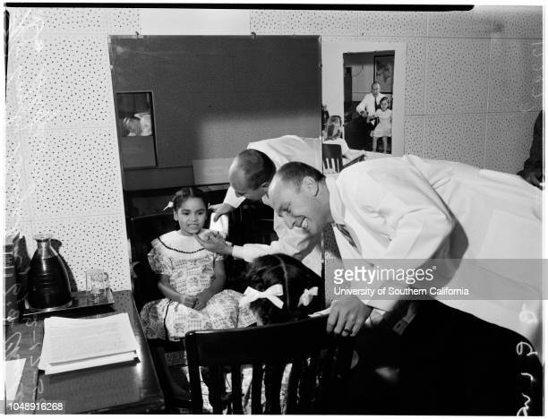 White Memorial Hospital Physical Rehabilitation Center of College of Medical Evangelists 17 February 1958 Henry MarkowitzJoyce BrockmanJune...
