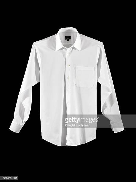 a white men's dress shirt - weißes hemd stock-fotos und bilder