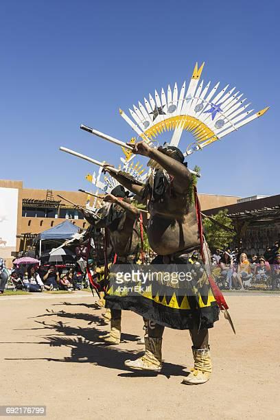 White Mountain Apache dance performance