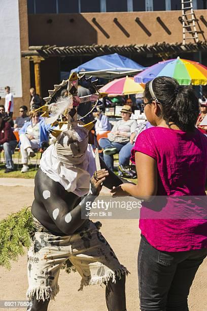 white mountain apache dance performance - tee reel bildbanksfoton och bilder