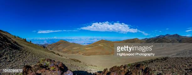 white mountain pano - highlywood stock photos and pictures