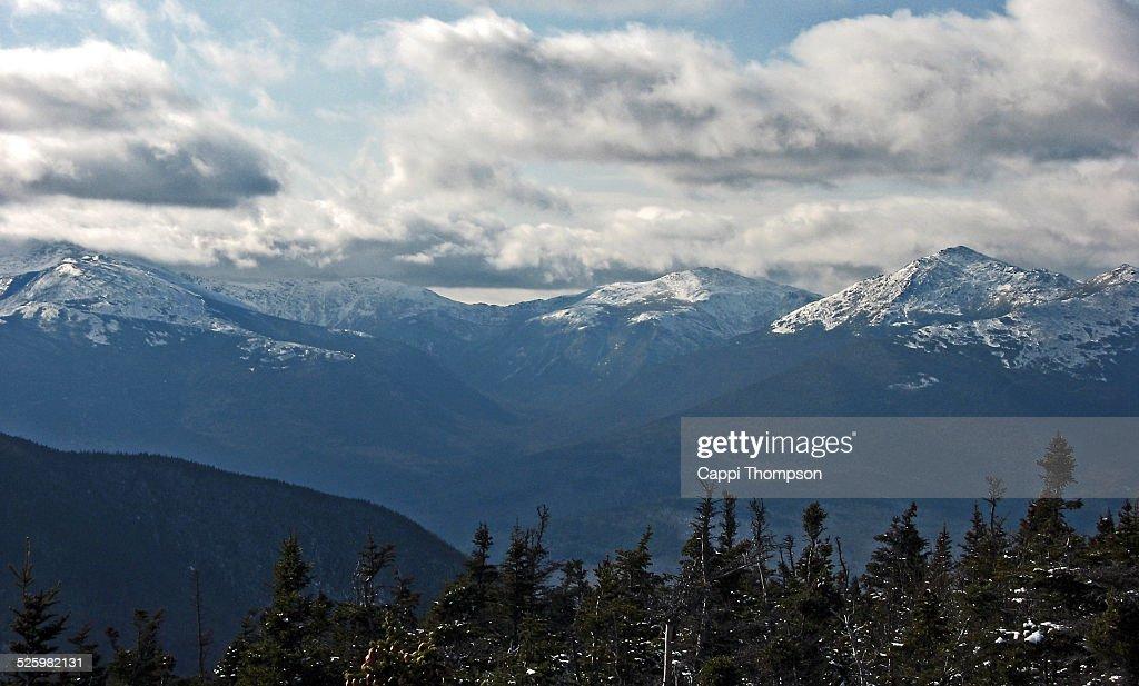 White Mountains New Hampshire : Stock Photo