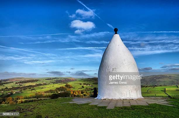 White Nancy monument, Bollington, Cheshire, UK
